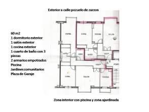 Ático en alquiler en calle Pozuelo de Zarzon, nº 4