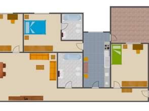 Pisos y apartamentos con terraza en la malva rosa for Pisos alquiler malvarrosa