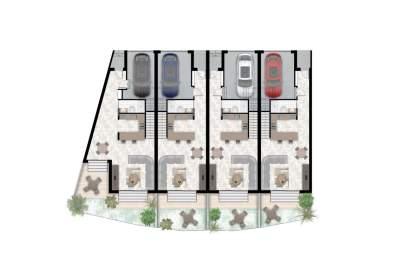 Casa pareada en calle Serra D´ en Carles