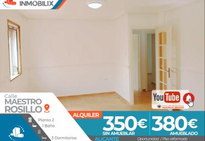 Apartament a calle Maestro Rosillo