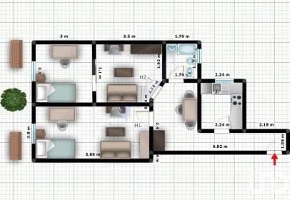Apartamento en Centro de La Ciudad