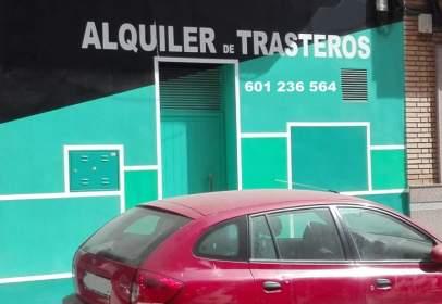 Traster a calle de Cronista Maraver