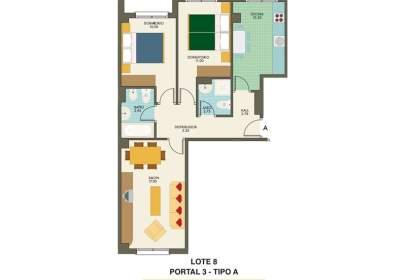 Flat in calle Pintora Concha Mori 1 - 3 - 5 - 9 - 11-, nº 13