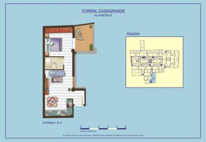 Penthouse in calle Alfarería, nº 8